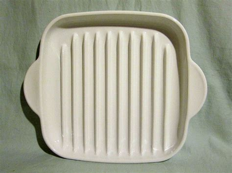 vintage corning ware oven  microwave grill rack plate   click image  review