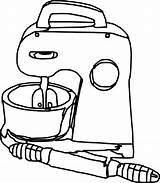Mixer Outline Clip Robot Clipart Clker Vector Graphics Toy Cliparts sketch template