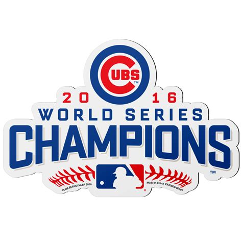 Upper Deck Customer Service by Chicago Cubs 2016 World Series Champions Bobble Head Set