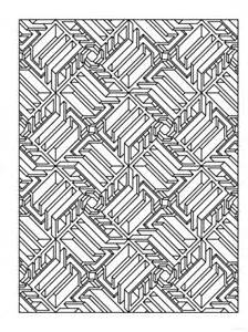 Creative Haven Tessellation Patterns Coloring Book Pages
