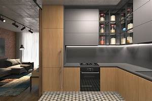 deco studio 25 idees de design d39interieur With idee amenagement petite cuisine