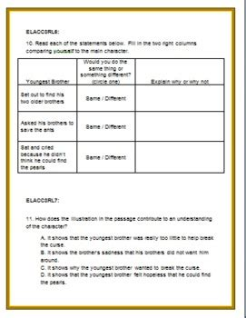 grade ela common core test prep literary standards