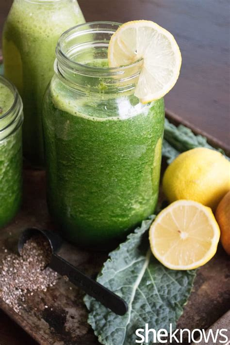 7 green detox juice recipes no fruit yuri elkaim