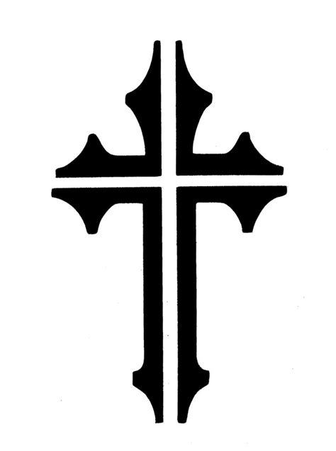 Cross Template The Gallery For Gt Decorative Cross Template
