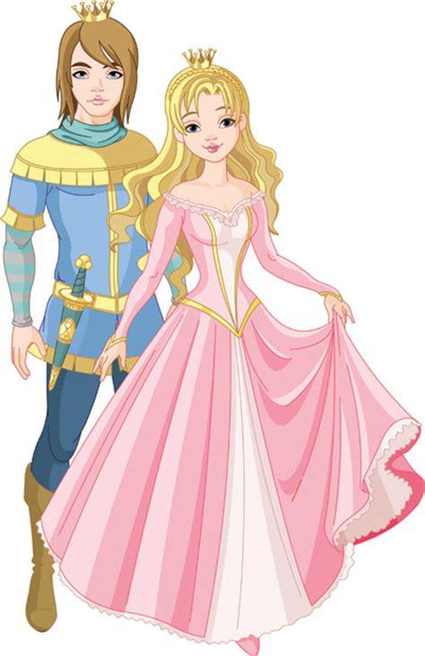 prince  princess   eps   vector