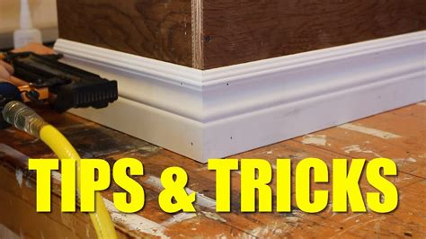 how to install baseboard like a pro youtube