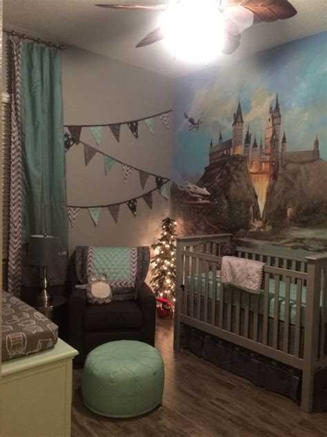 Room Theme Ideas by A Harry Potter Inspired Nursery Project Nursery