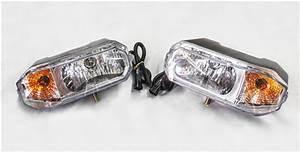 Arctic Snow Plow Head Light Kit 800067
