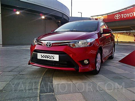 Toyota Car : Toyota Yaris Sedan 2016 1.5 Sport In Uae