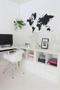 Schreibtisch Expedit Ikea : die besten 20 kallax schreibtisch ideen auf pinterest ~ Markanthonyermac.com Haus und Dekorationen