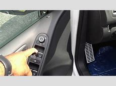 How to roll the windows up and down without a key on a