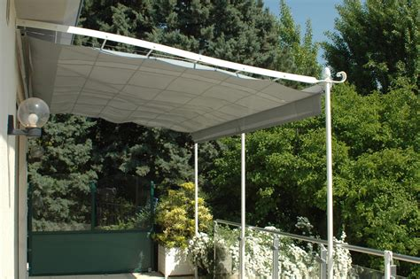 voile d ombrage pergola installer une voile d ombrage r 233 tractable sur une pergola en acier