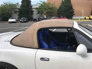 1993 Mazda Miata Convertible Pearl White Rwd Manual Turbo