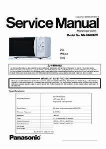 Panasonic Home Appliance Service Manuals