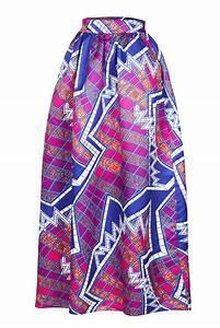 Women African Print Maxi Skirt Dress Sexy Autumn Color Block Cute Club Summer