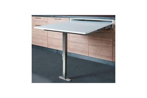 table cuisine avec tiroir table escamotable avec pied dans un tiroir accessoires de