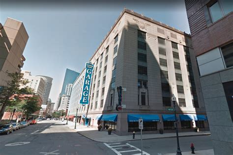 back bay garage a 17 story condo tower could rise from the motor mart