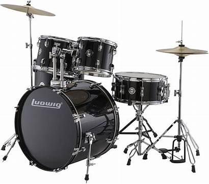 Drum Kit Acoustic Ludwig Fuse Accent Piece