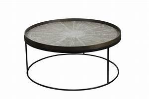 Table Basse Notre Monde : round tray table basse extra large de notre monde ~ Melissatoandfro.com Idées de Décoration