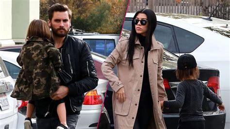 Scott Disick Hangs With Kourtney Kardashian And Kids After ...