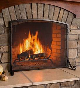 Arched, Top, Flat, Guard, Fireplace, Screen