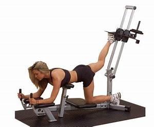 Appareil musculation fessier : machine de fitness pour les