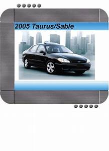 2003 Ford Taurus Mercury Sable Service Shop Set Service And The Wiring Diagrams