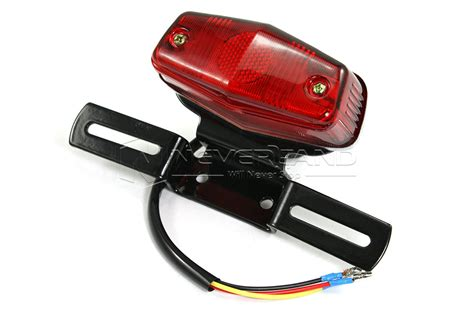 Motorcycle Tail Light Harley Choppers License Plate Brake