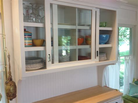 Kitchen Cupboards With Sliding Doors by Sliding Glass Kitchen Cabinet Doors Kitchens In 2019