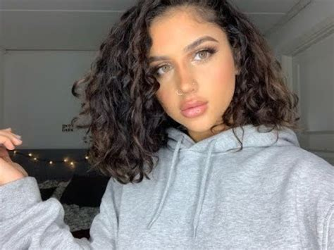 Short Curly Hair Routine 2018 YouTube