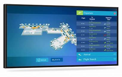 Directory Screen Digital Interactive Touch Touchscreen Signage