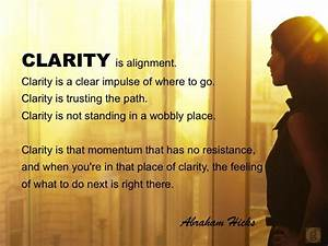 Moments of Clar... Clarity Relationships Quotes
