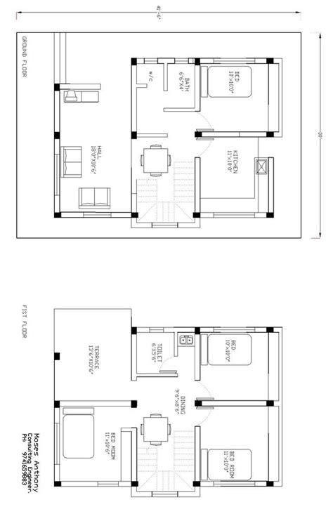 house drawings plans how to draw a house plan