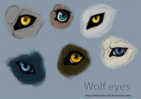 Wolf Eyes By Themysticwolf On Deviantart