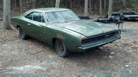 Sell used 1968 DODGE CHARGER 318 4 SPEED SOLID FLOORS