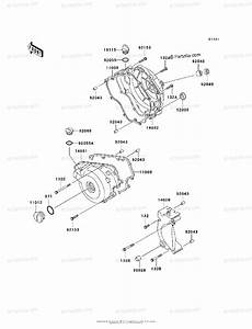 Kawasaki Motorcycle 2004 Oem Parts Diagram For Engine