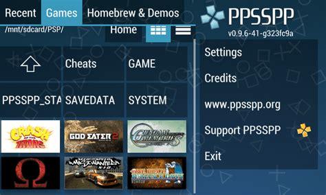 Main Game Psp Di Android