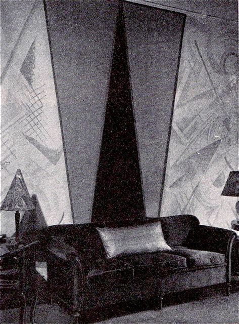 early art deco wall treatment flickr photo sharing