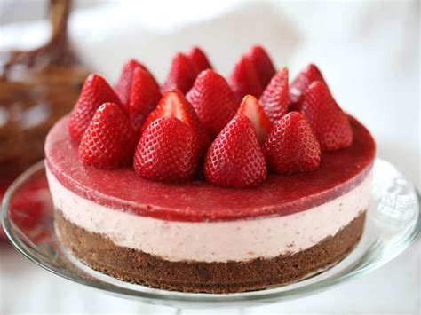 dessert cuisine how to a no bake strawberry cheesecake recipe