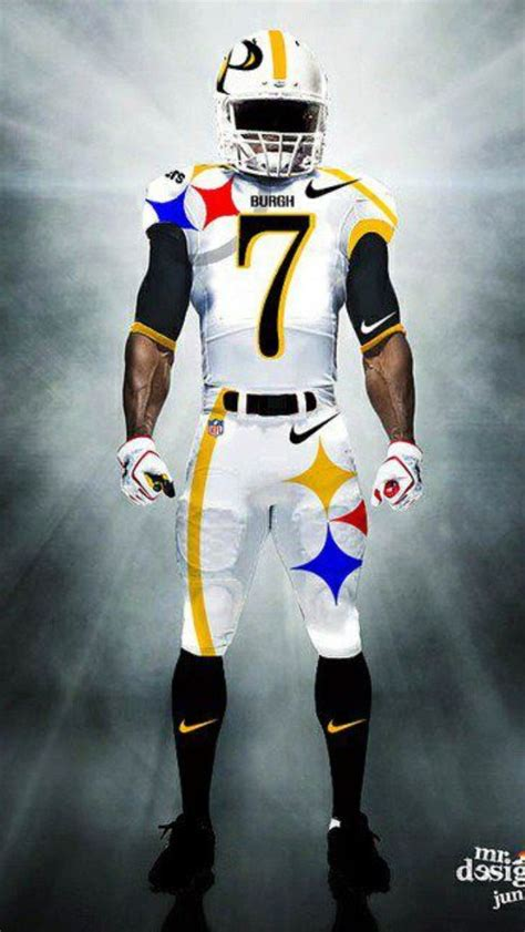 concept uniform pittsburgh steelers football steelers