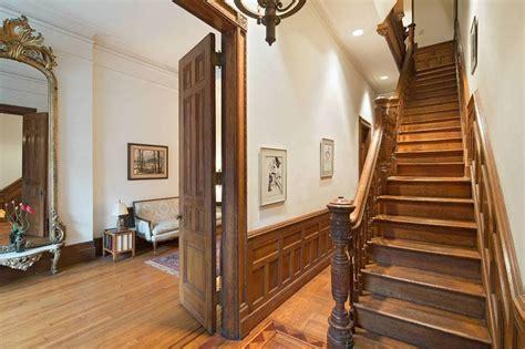 images  original brownstone interiors  york upper west side brownstone victorian