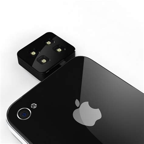 iblazr a new universal led flash for iphone and other