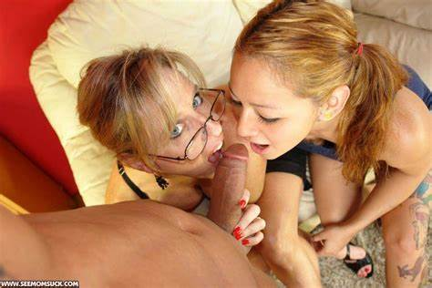Reality Mother Giving A Wonderful Oral