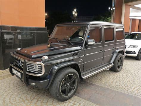 mercedes benz jeep matte black matte black g55 amg mercedes benz youtube