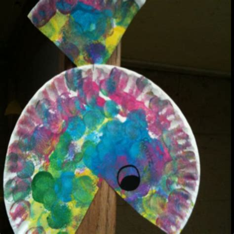 paper plate fish craft great    year olds diy