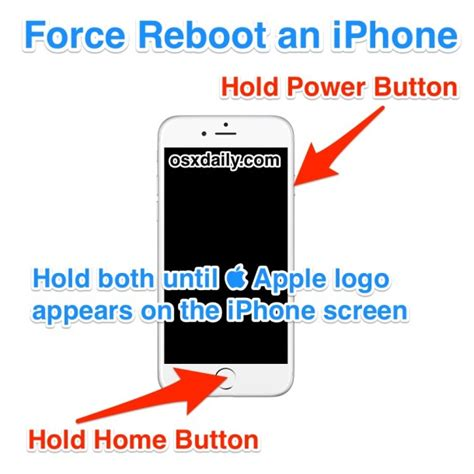 how to reboot an iphone
