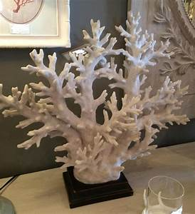 White Coral Tree Sculpture / Decor Mulberry Moon
