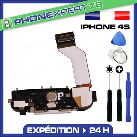 nappe dock iphone 4 nappe dock connecteur de charge complet iphone 4s blanc micro nappe home achat pi 232 ce
