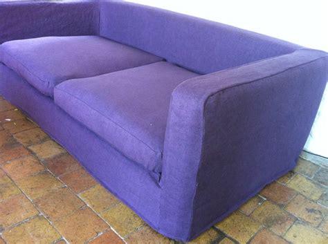 housse de sofa sur mesure housse de canape sur mesure en sauvage quot caravane quot couleur bruyere atelier virginie morel