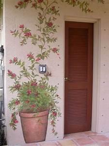 Cache Pot Mural : mural flower pot ideas for painting murals pinterest ~ Premium-room.com Idées de Décoration